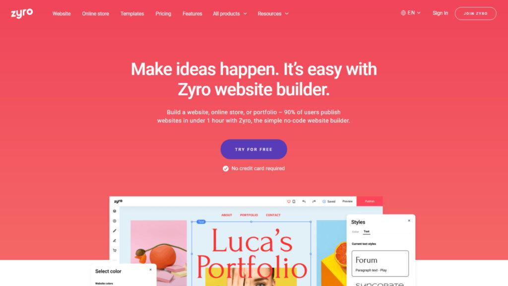 zyro-cheap-website-builder-affordable-ecommerce-website-design-platform