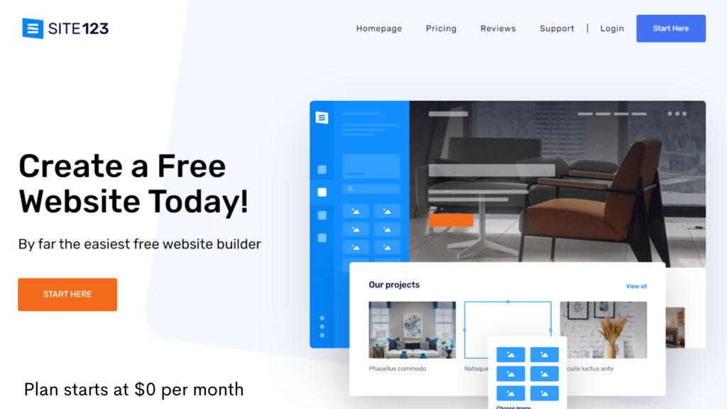 site123-cheap-website-builder-affordable-ecommerce-website-design-platform