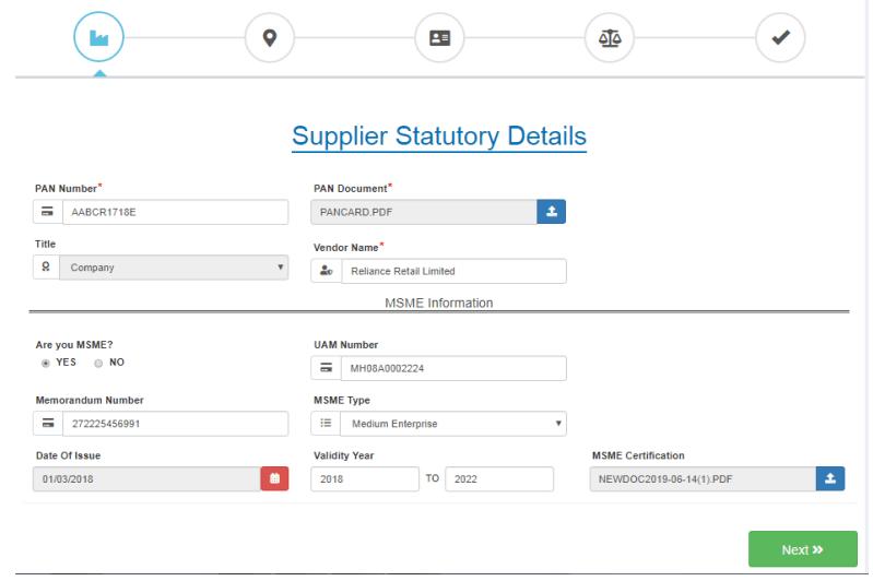 ajio-seller-registration-pan-card-details