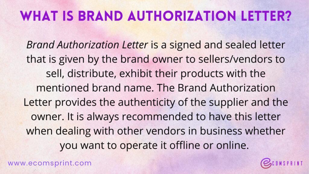 brand authorization letter format for flipkart pdf